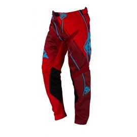 Pantalon Cross KENNY TRACK 2016 Rouge Turquoise