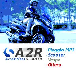 Mp3 Piaggio et Scooter - Accessoires - Casques - Vêtements Pilotes