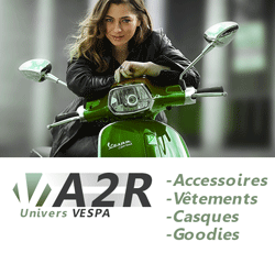 Univers VESPA - Accessoires - Vêtements - Casques - Goodies
