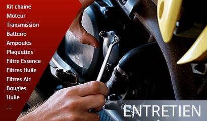 Atelier Moto : Entretien de votre machine, chaîne, moteur, transmission, batterie, ampoules...